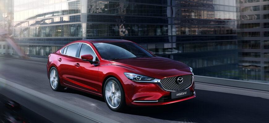 Бизнес-класс по-японски: обзор Mazda 6