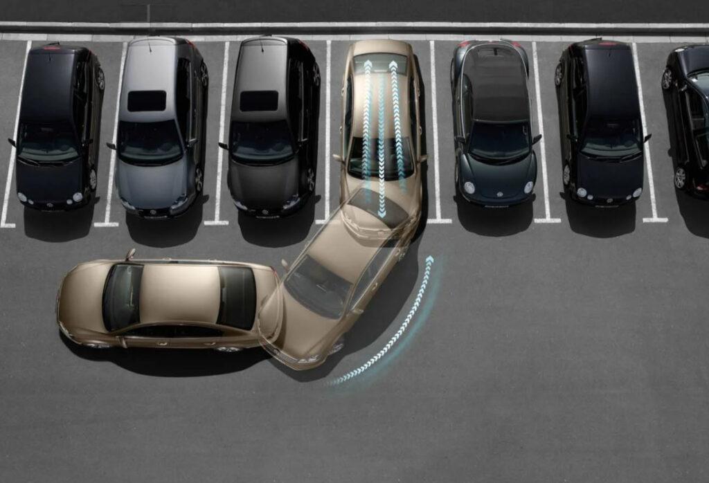 Процесс парковки