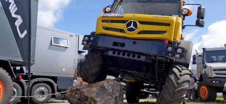 Mercedes Unimog: легенда о, возможно, лучшем внедорожнике в мире