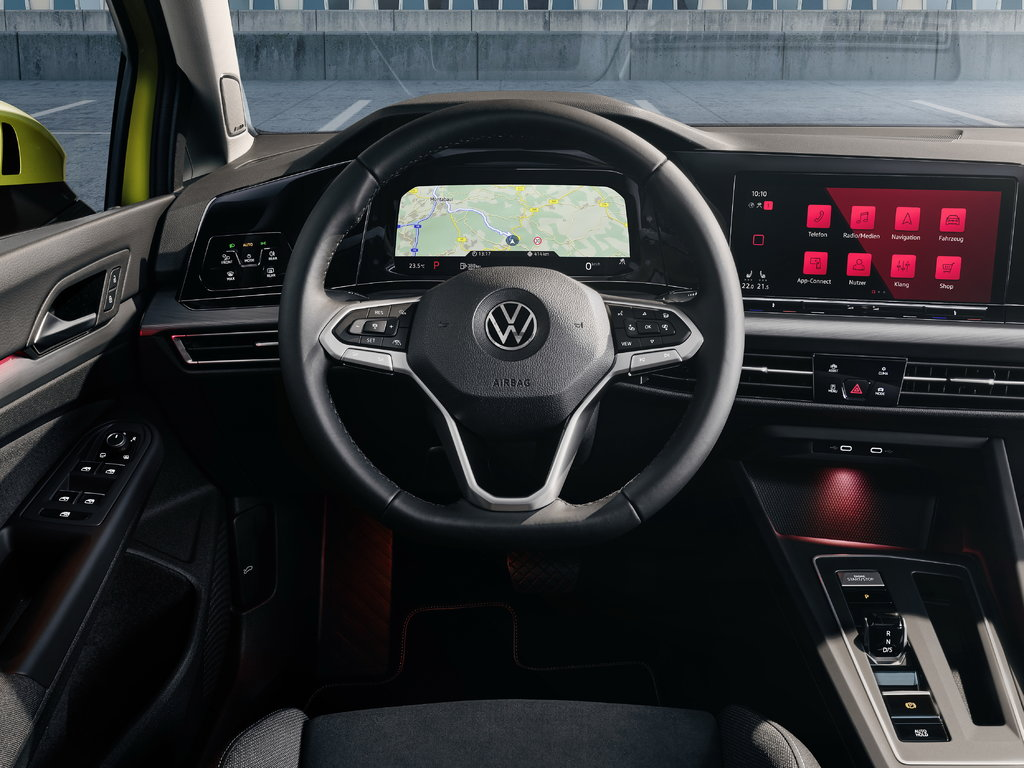 Рулевое колесо  Volkswagen Golf VIII