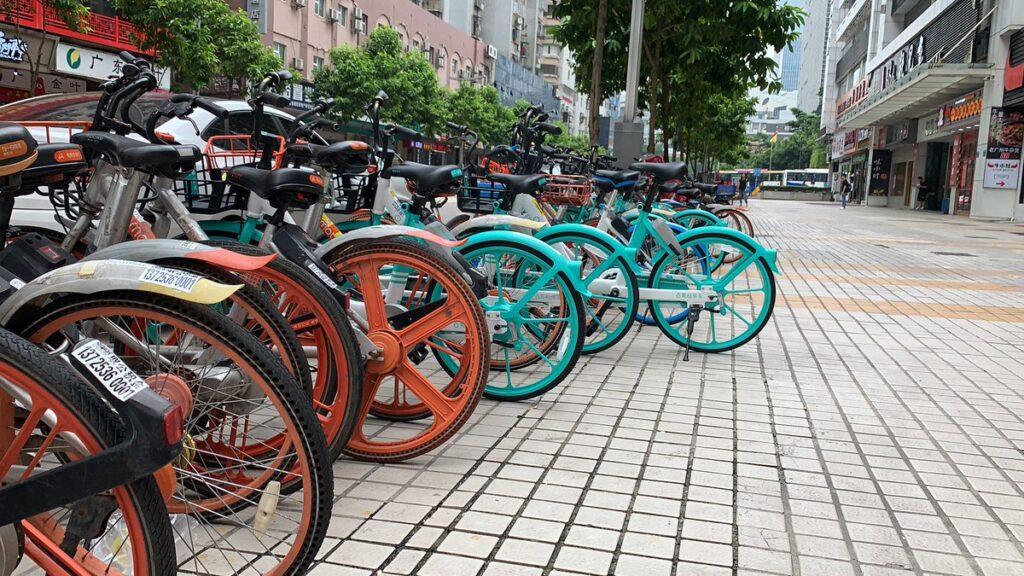 В Китае предпочитают развивать велосипедный транспорт