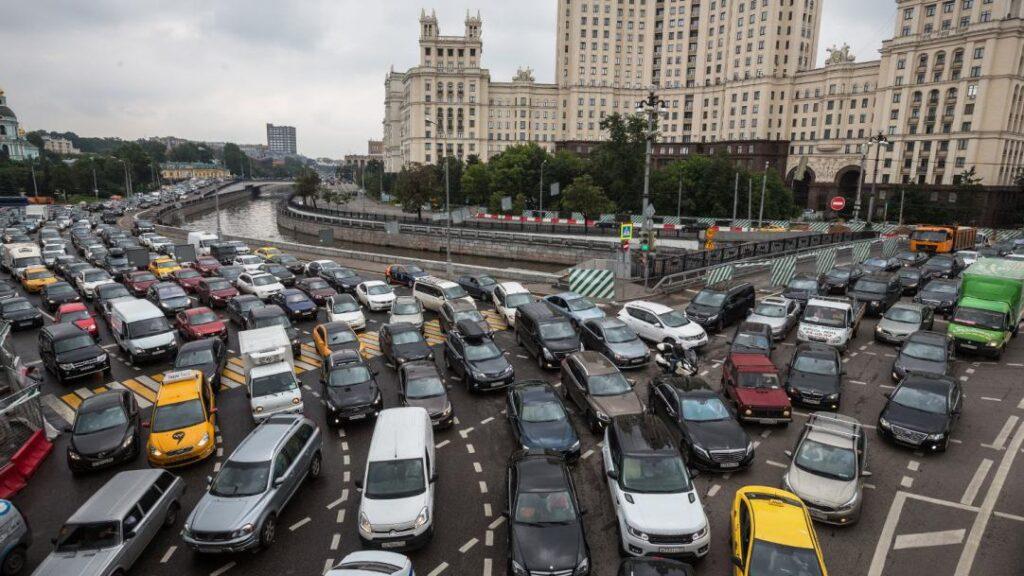 В российской столице остро стоит проблема пробок