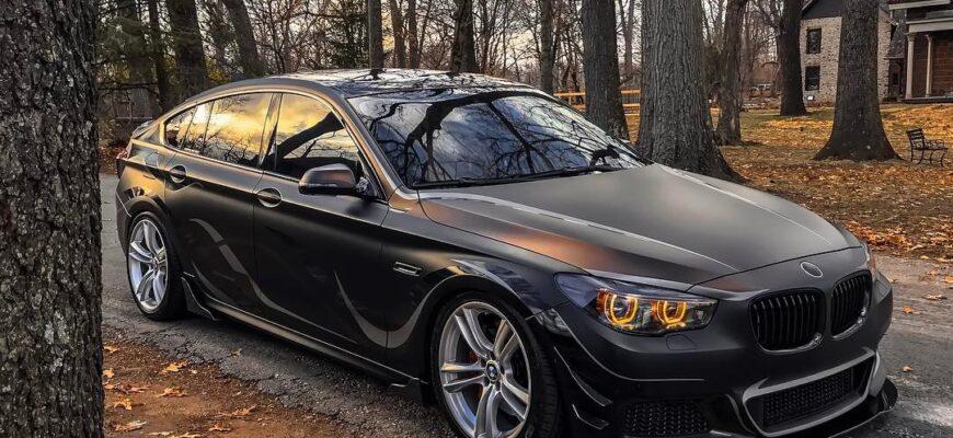 BMW 550i GΤ: сочетание динамики, комфорта и стиля