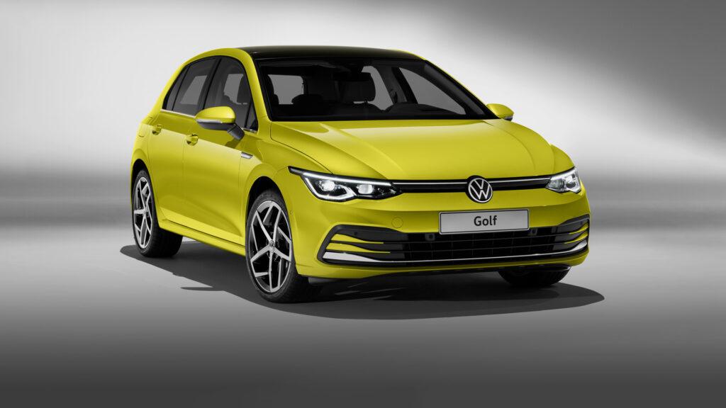 Volkswagen Golf VIII, вид спереди
