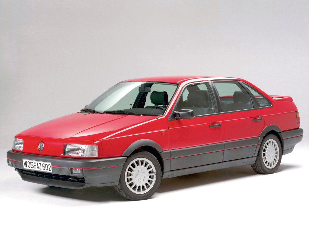 «Вишневый красавец» VW Passat GT B3