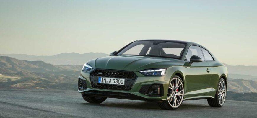 Обзор Audi A5 - гражданский автомобиль с заявкой на спорт
