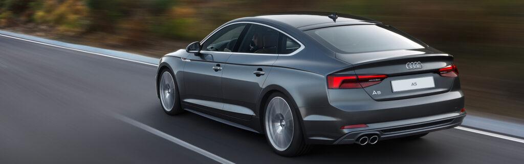 Audi A5 в движении