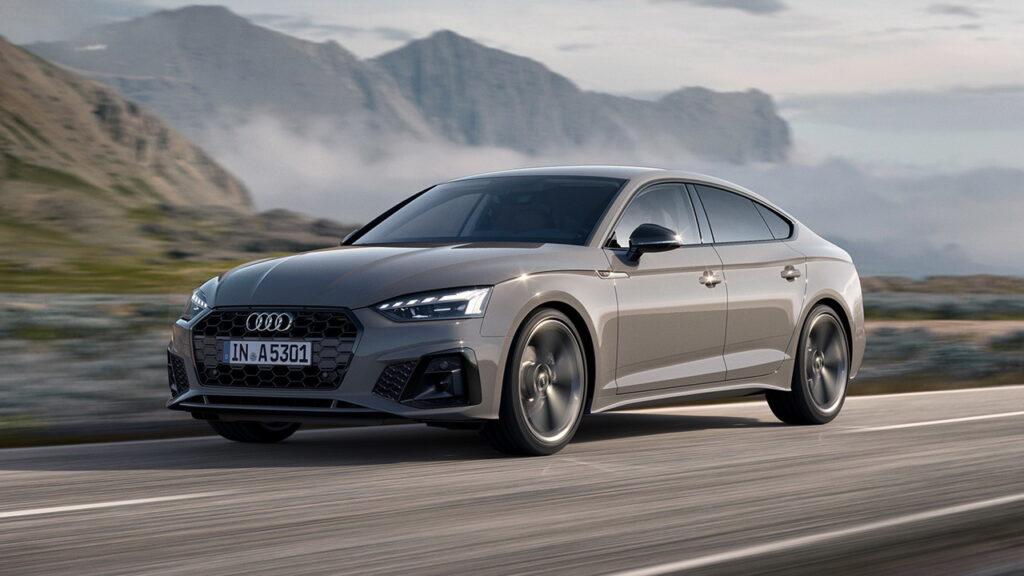 Audi A5, вид спереди
