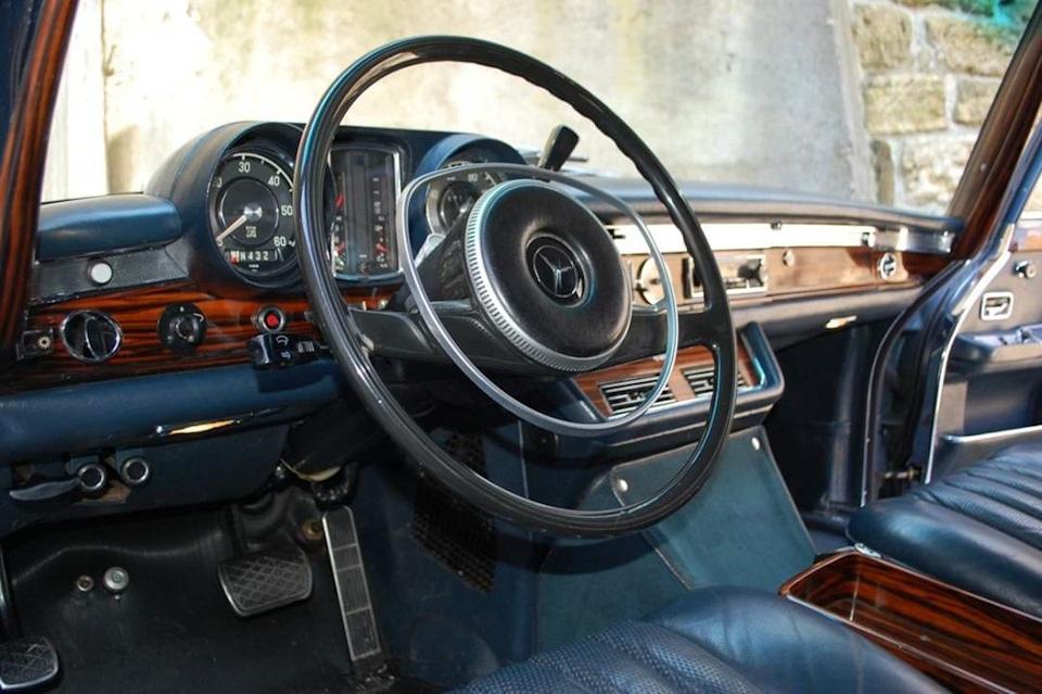 50-летний Mercedes-Benz Pullman: с годами только краше