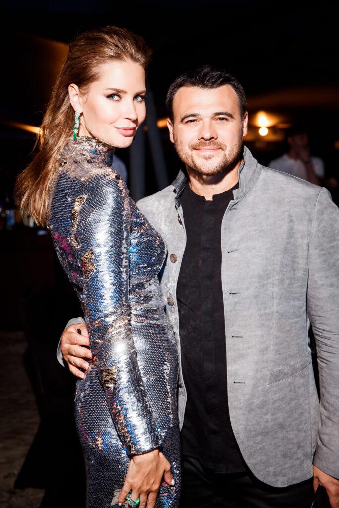 Эмин Агаларов с супругой
