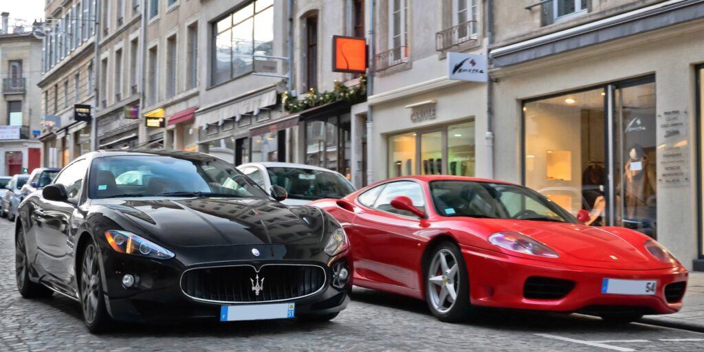 Maserati и Ferrari