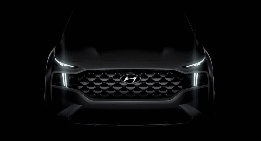 Обновленный Hyundai Santa Fe