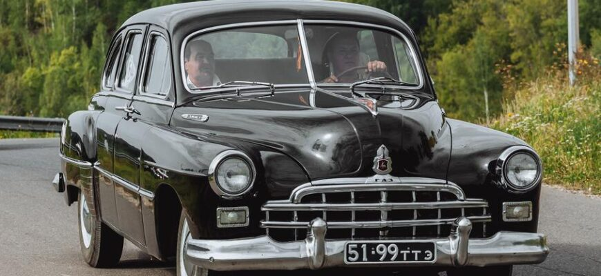 Как создавался культовый советский автомобиль ЗИМ