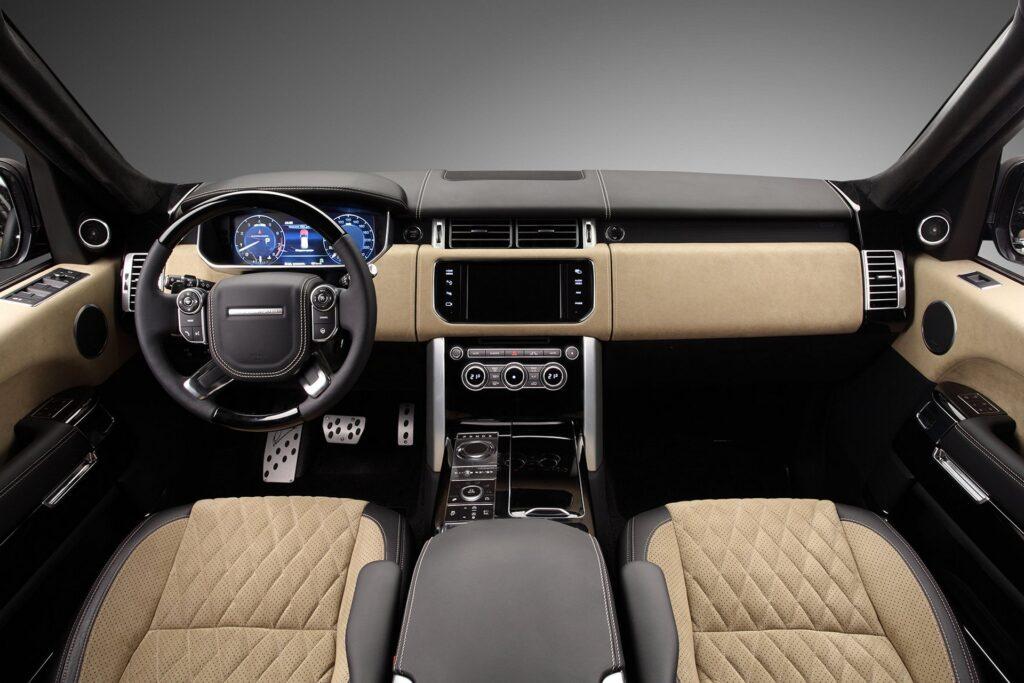 Салон Range Rover Vogue