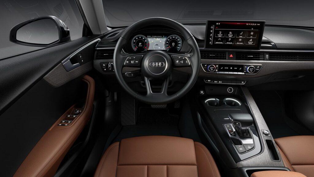Пространство водителя Audi A5