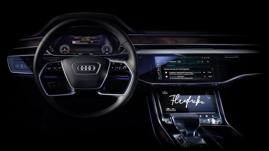 Салон Audi A8
