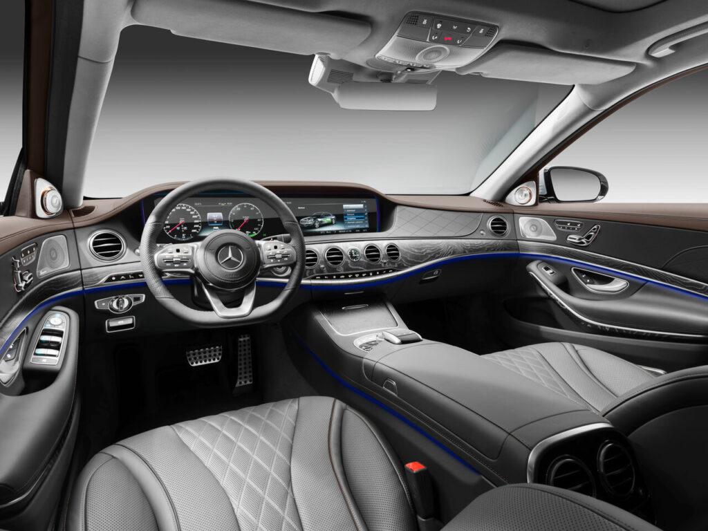 Салон Mercedes S-class
