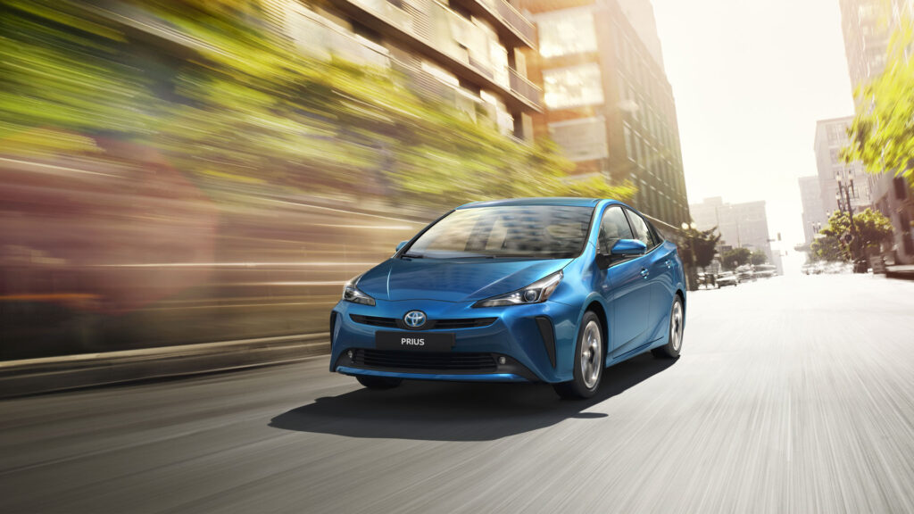 Toyota Prius в движении