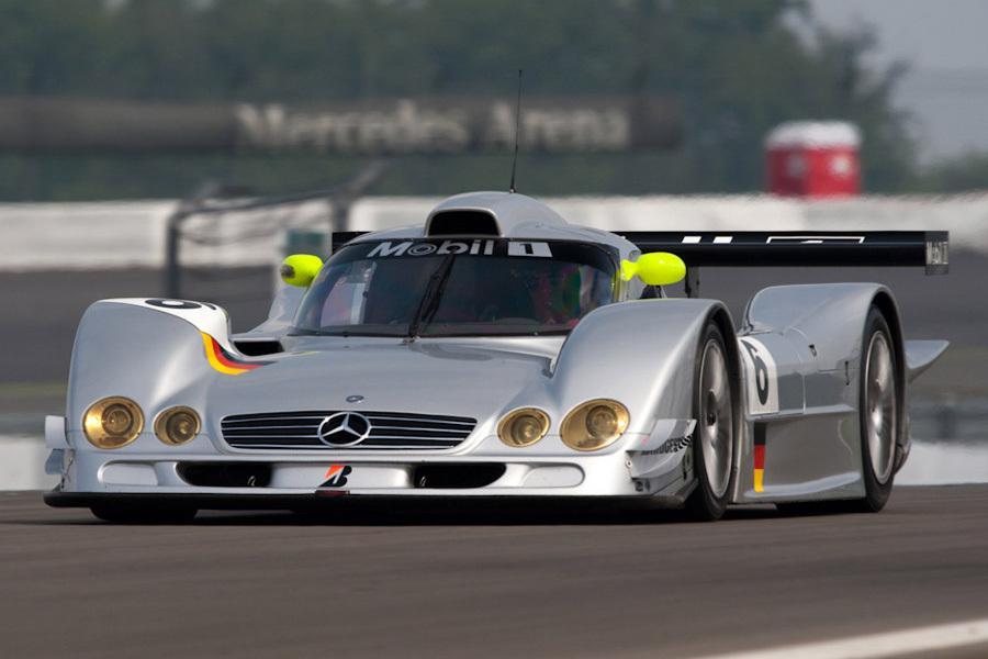 Внешний вид гоночного прототипа Mercedes-Benz CLR