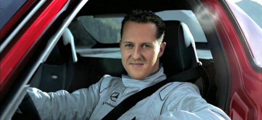 Реклама Mercedes-Benz SLS AMG с Шумахером - как это было