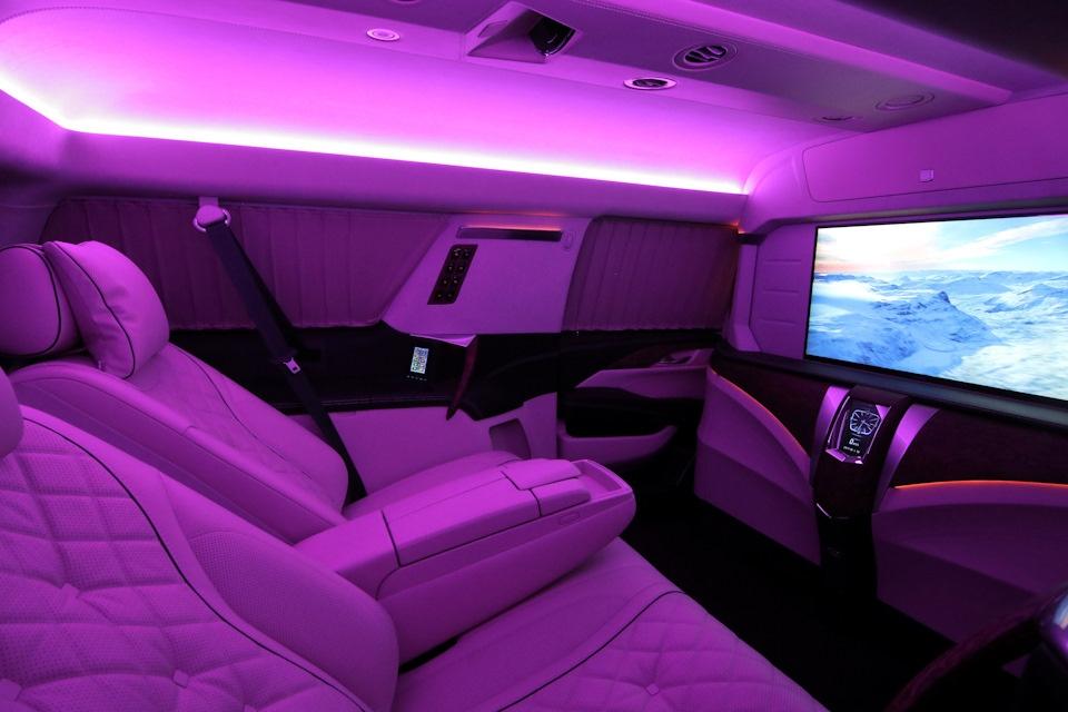 Cadillac Escalade: премиальный офис или роскошная комната отдыха