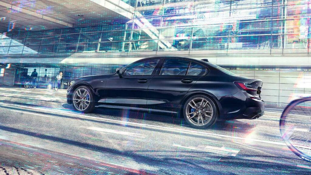 BMW 3-series в движении