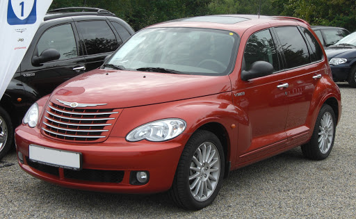 Chrysler PT Cruiser, вид спереди