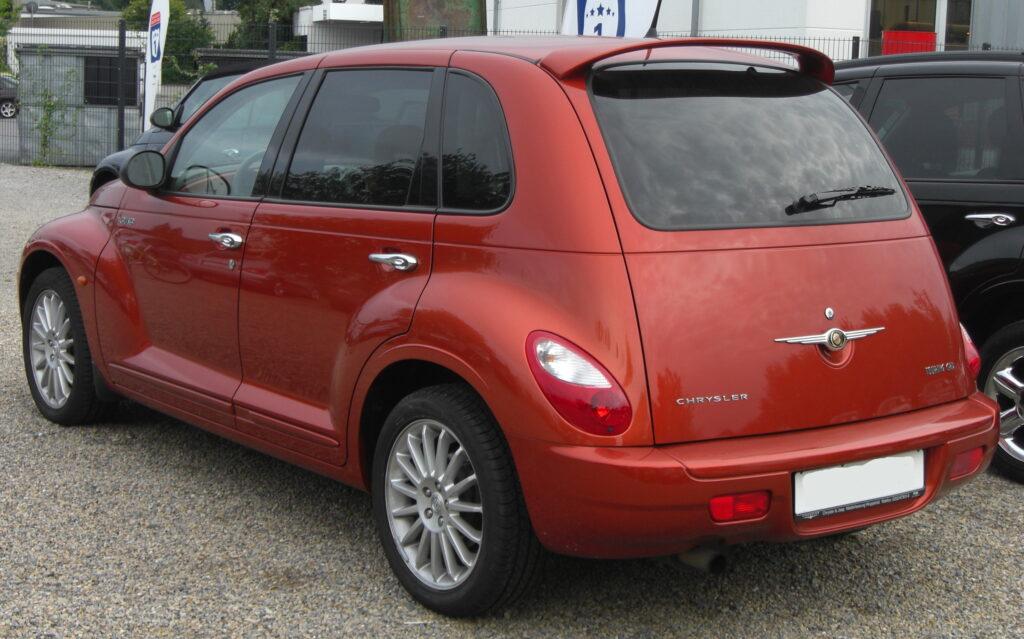 Chrysler PT Cruiser, вид сзади