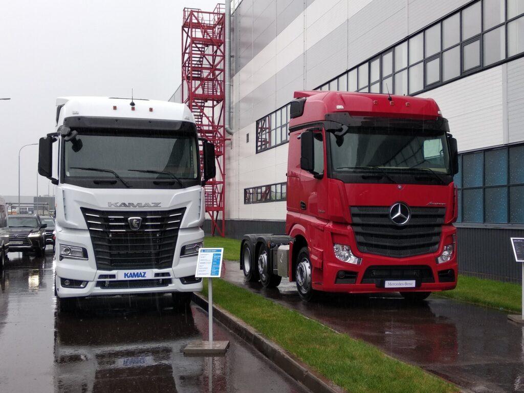 КАМАЗ и Mercedes