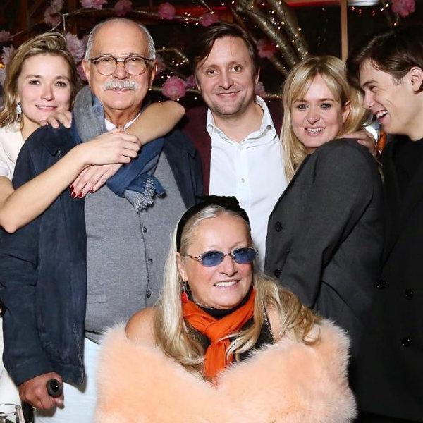 Никита Михалков с семьей