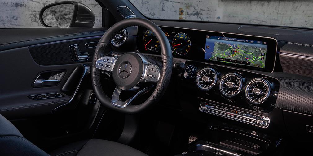 Салон Mercedes A-class