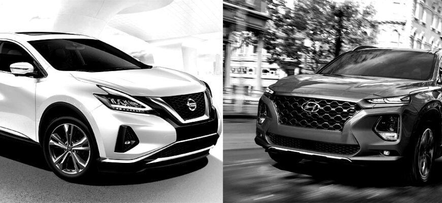 Nissan Murano vs Hyunda Santa Fe
