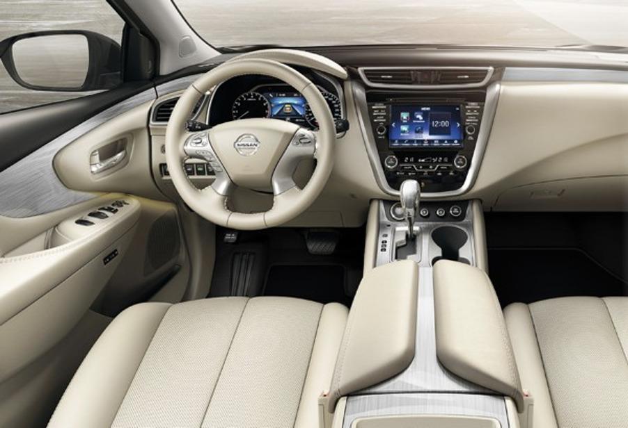 Интерьер Nissan Murano