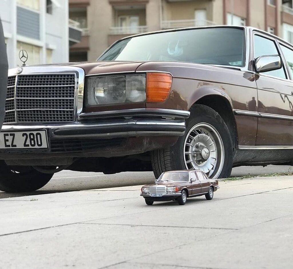 Модельки автомобилей, которые не отличить от настоящих машин
