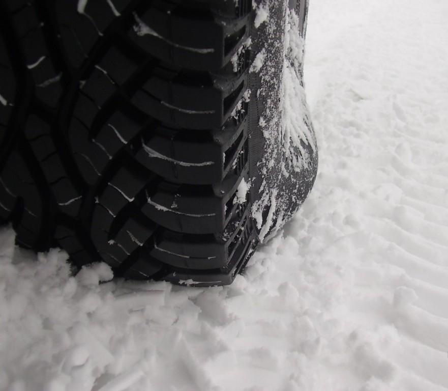 Падение давления в шинах зимой