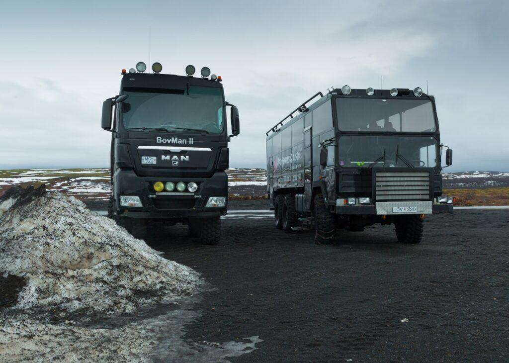 На чем ездят в суровой Исландии?