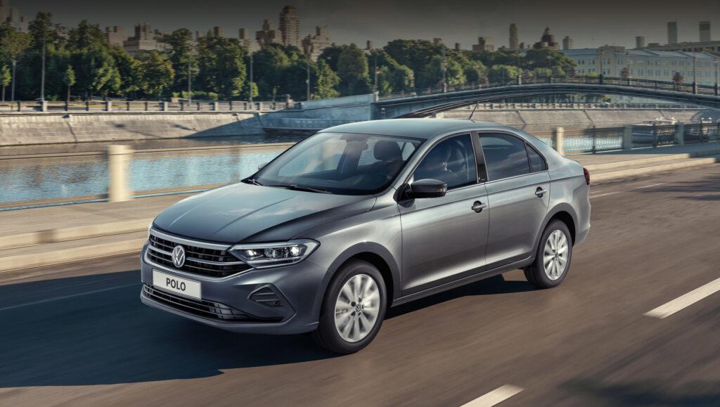 Volkswagen Polo, вид спереди