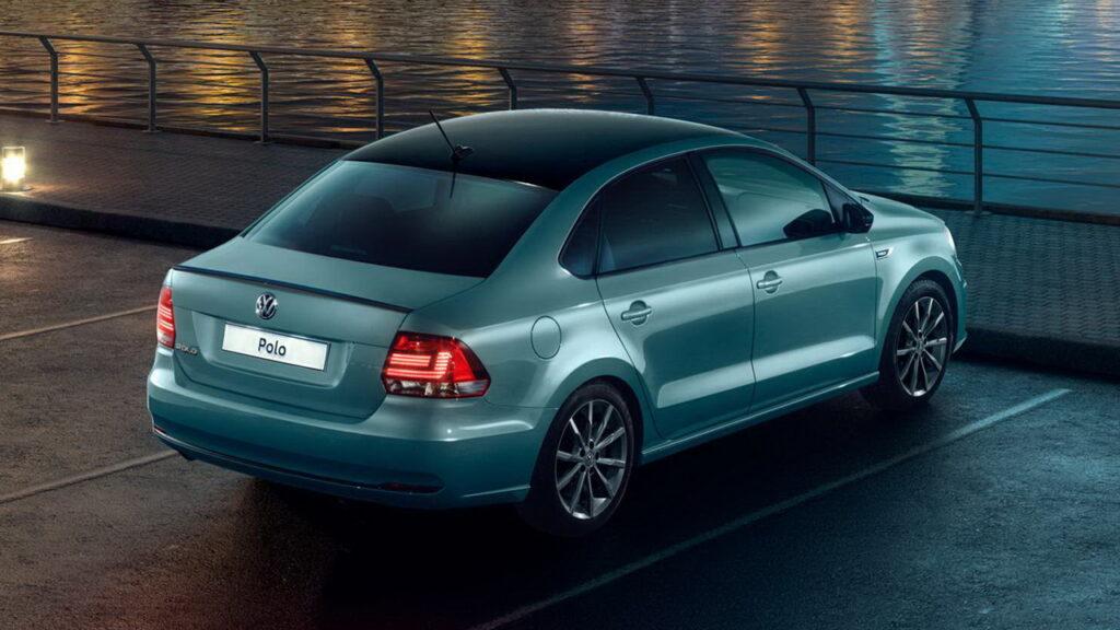 Volkswagen Polo, вид сзади