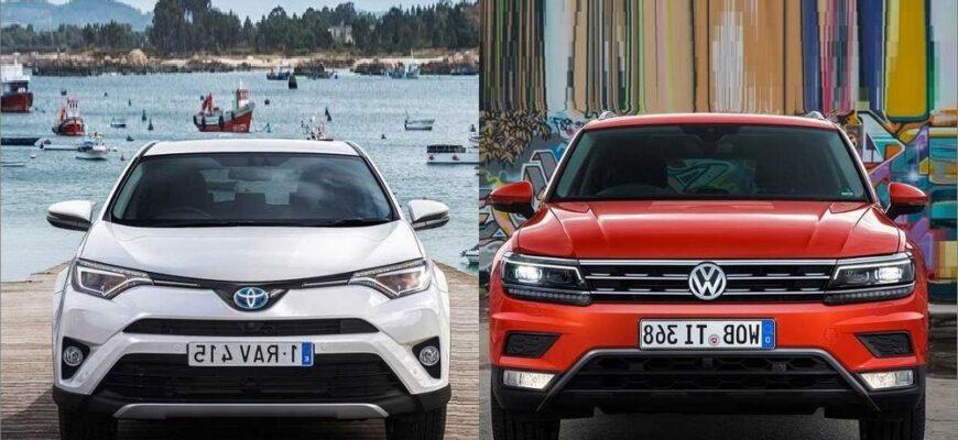 Опрос: VW Tiguan или Toyota RAV4?