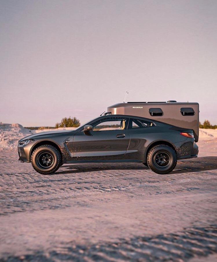 BMW со встроенным модулем - очень необычный автомобиль