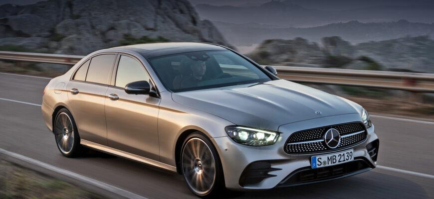 Новый Mercedes-Benz E-class не получит звезду на капоте