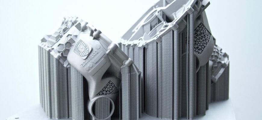 Электромотор созданный на 3D-принтере представили в Porsche