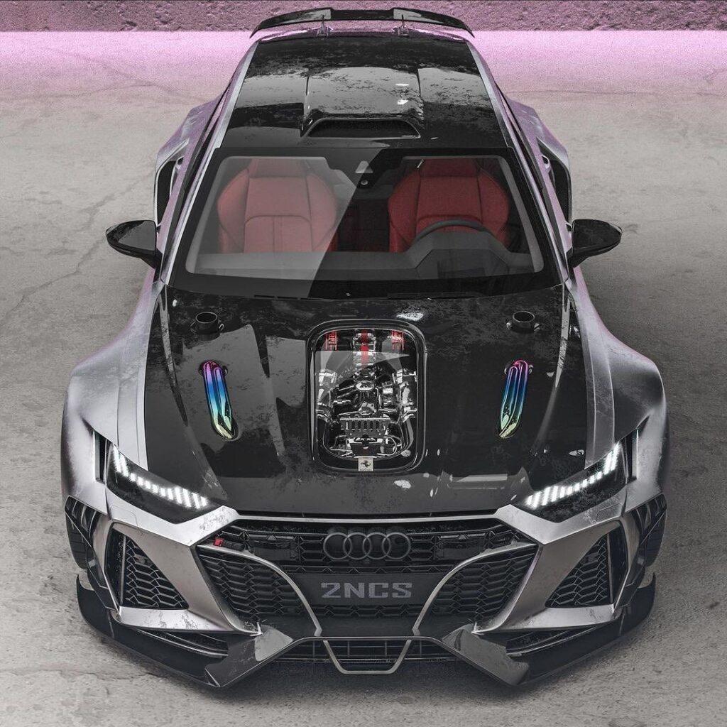 Audi RS6 - максимально брутальный кузов
