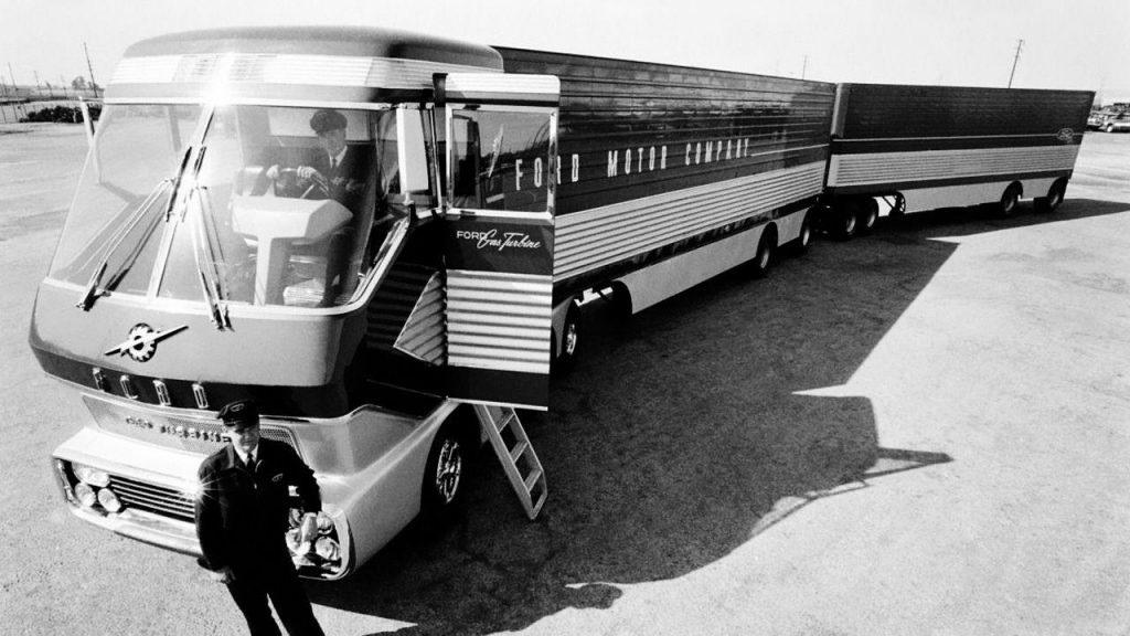 Автопоезд Ford Gas Turbine Truck - на зависть дальнобойщикам