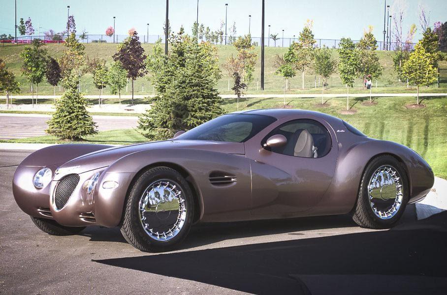 Chrysler Atlantic, вид спереди