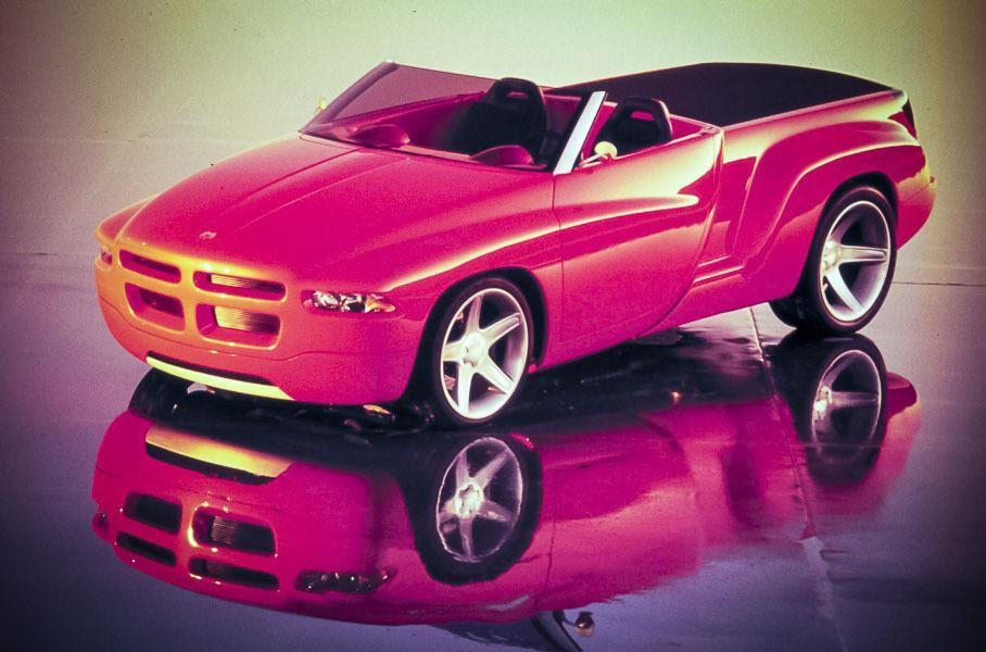 Dodge Dakota Sidewinder, вид спереди