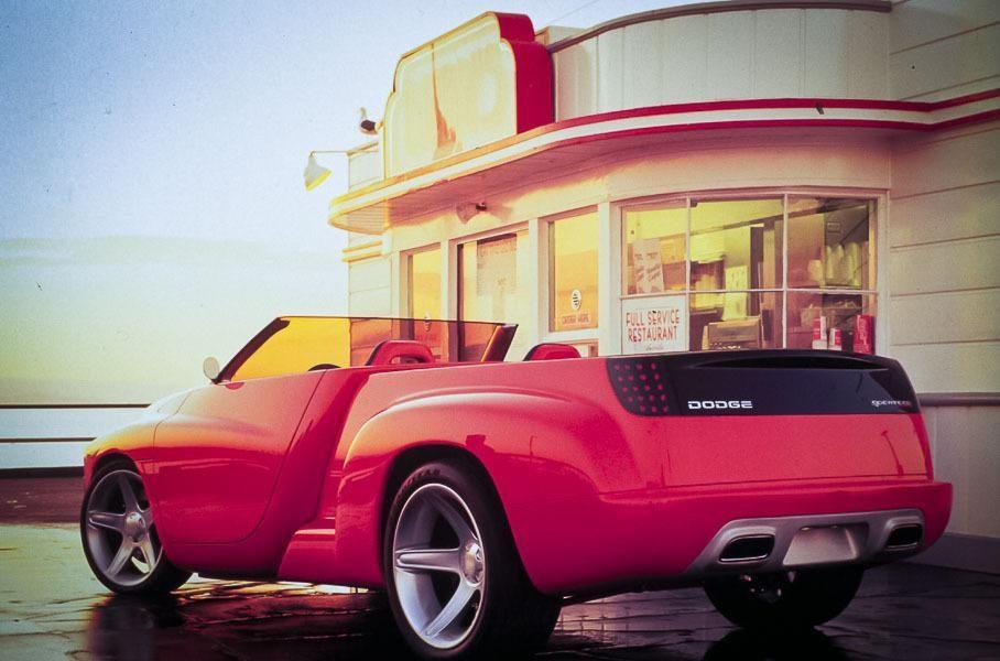 Dodge Dakota Sidewinder, вид сзади