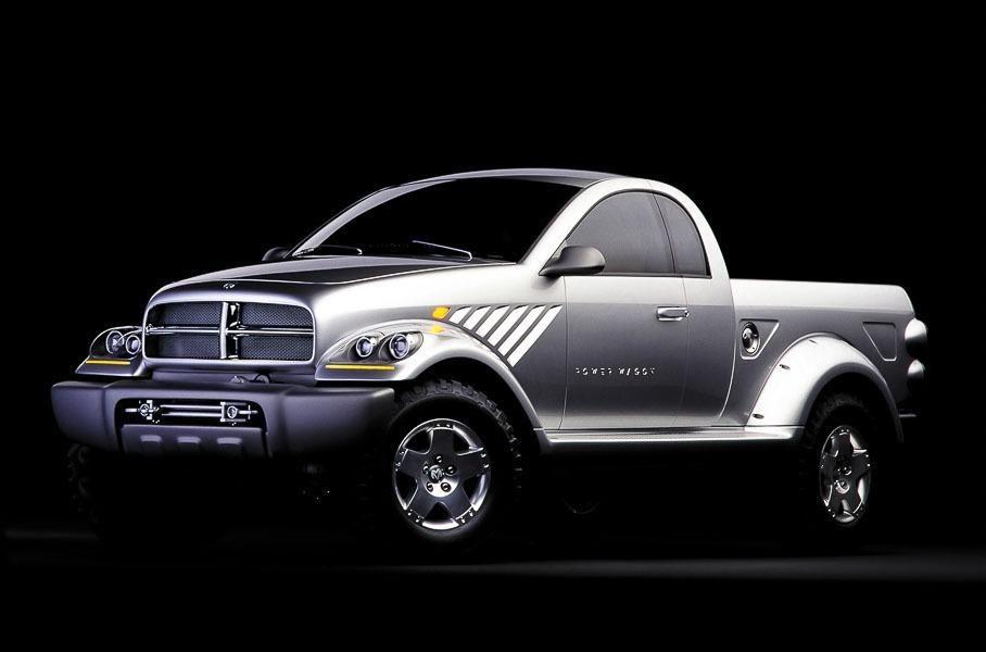 Dodge Power Wagon, вид спереди