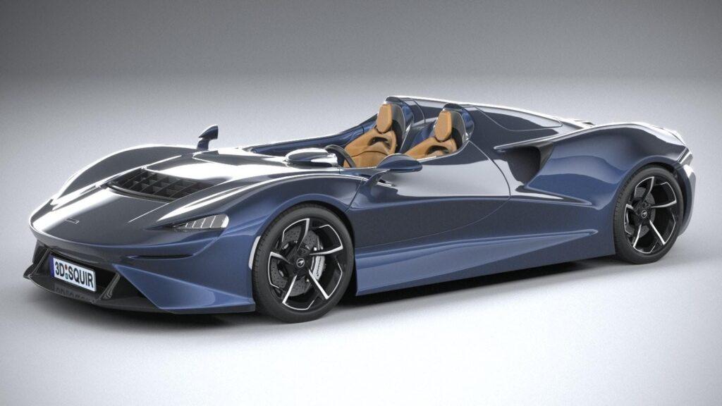 McLaren Elva, вид спереди