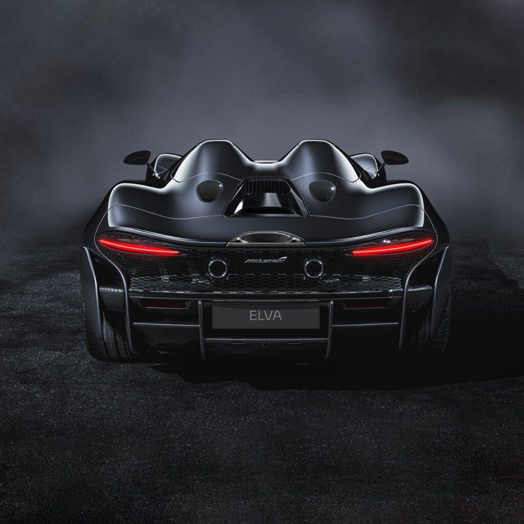 McLaren Elva, вид сзади
